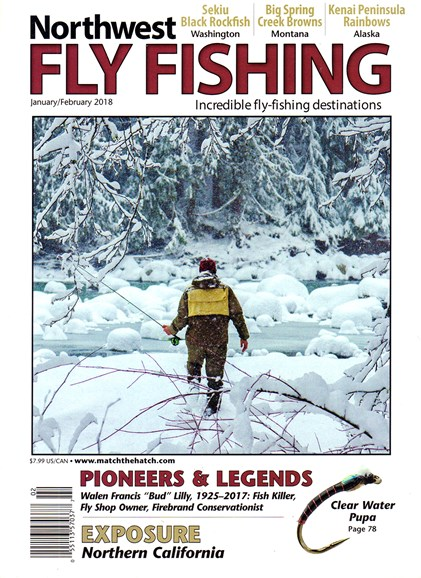 Northwest Fly Fishing Cover - 1/1/2018