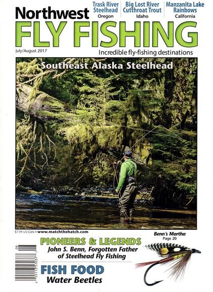 Northwest Fly Fishing Cover - 7/1/2017