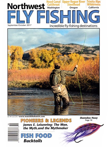 Northwest Fly Fishing Cover - 9/1/2017