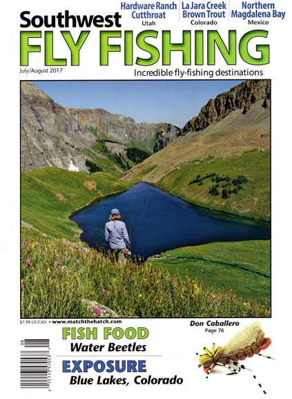 Southwest Fly Fishing Cover - 7/1/2017