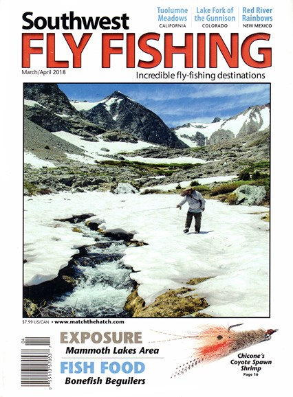 Southwest Fly Fishing Cover - 3/1/2018
