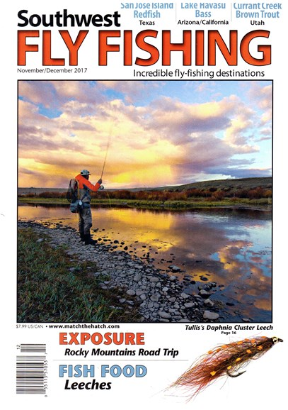 Southwest Fly Fishing Cover - 11/1/2017