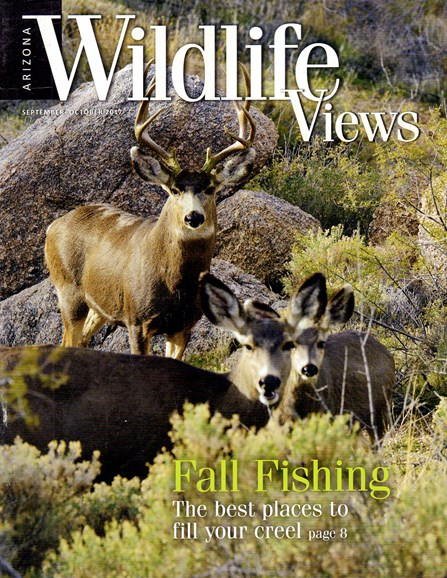 Arizona Wildlife Views Cover - 9/1/2017
