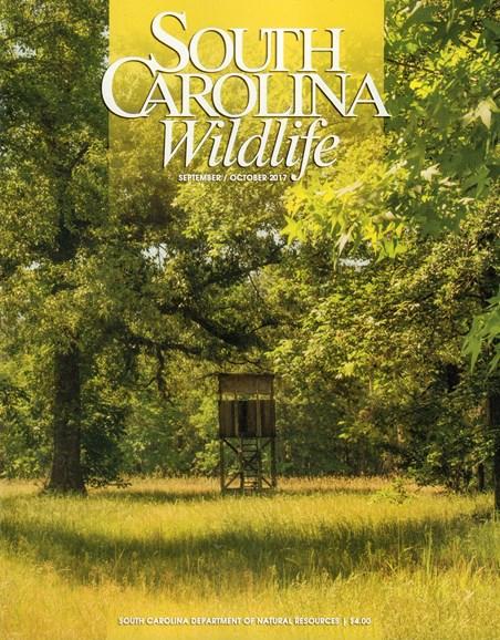 South Carolina Wildlife Cover - 9/1/2017