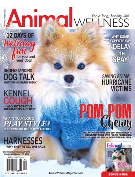 Animal Wellness Cover - 12/1/2017
