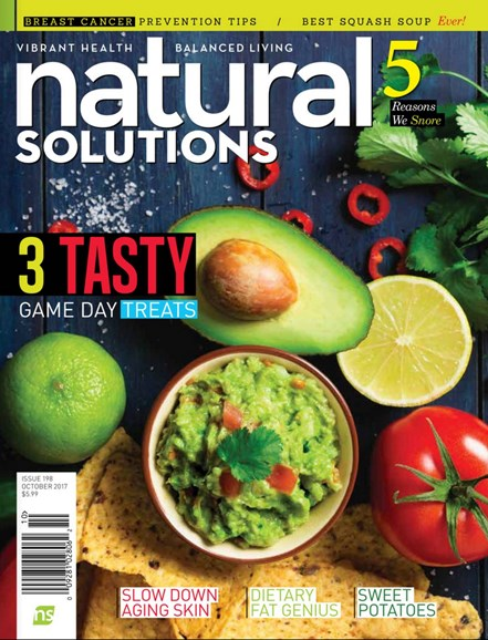Natural Solutions Cover - 10/1/2017