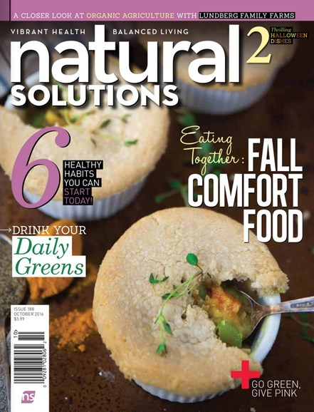 Natural Solutions Cover - 10/1/2016