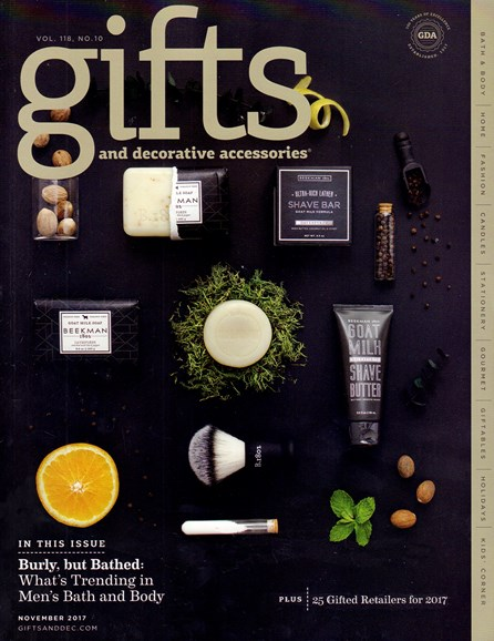 Gifts And Decorative Accessories Cover - 11/1/2017