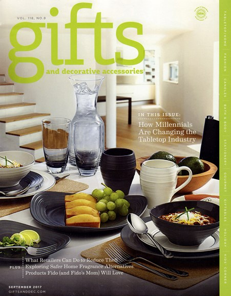 Gifts And Decorative Accessories Cover - 9/1/2017