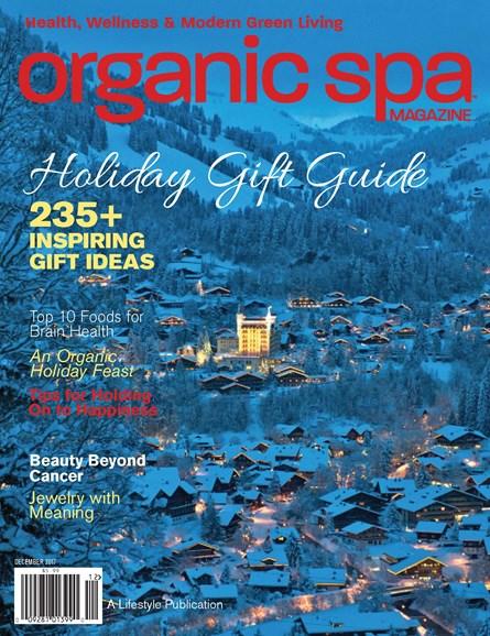 Organic Spa Cover - 12/1/2017