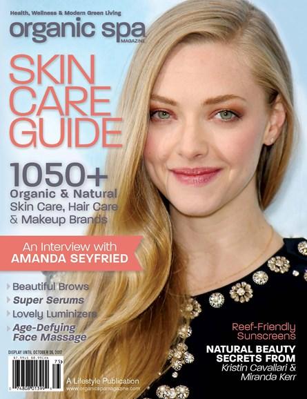 Organic Spa Cover - 9/1/2017