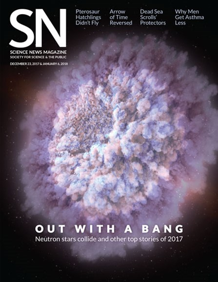 Science News Cover - 12/23/2017