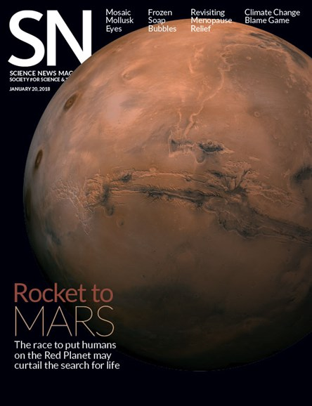 Science News Cover - 1/20/2018