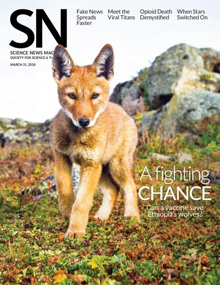 Science News Cover - 3/31/2018