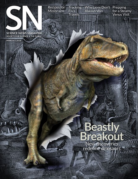 Science News Cover - 3/3/2018