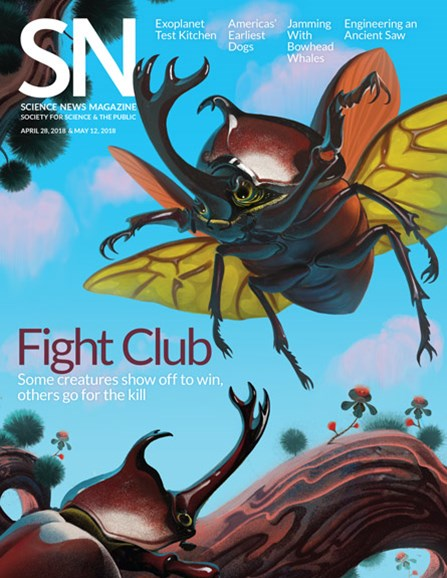 Science News Cover - 5/12/2018