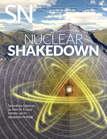 Science News Cover - 8/5/2017