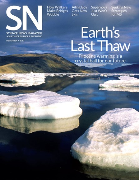 Science News Cover - 12/9/2017