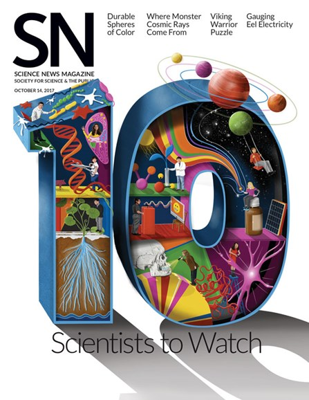 Science News Cover - 10/14/2017