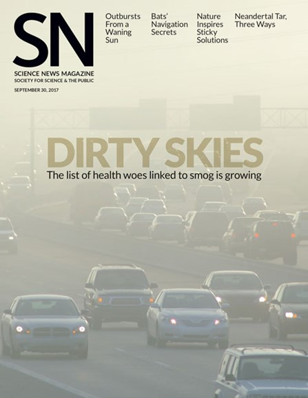 Science News Cover - 9/30/2017