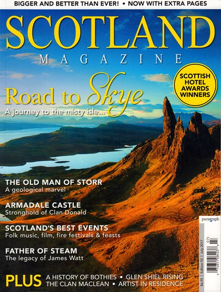 Scotland Magazine Cover - 7/1/2017