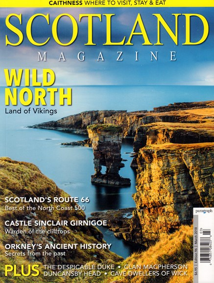 Scotland Magazine Cover - 3/1/2018