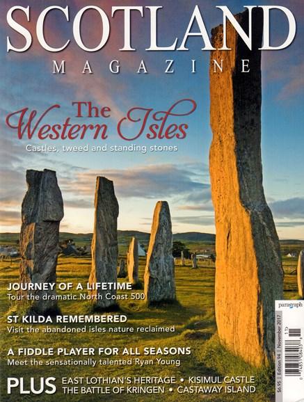 Scotland Magazine Cover - 11/1/2017