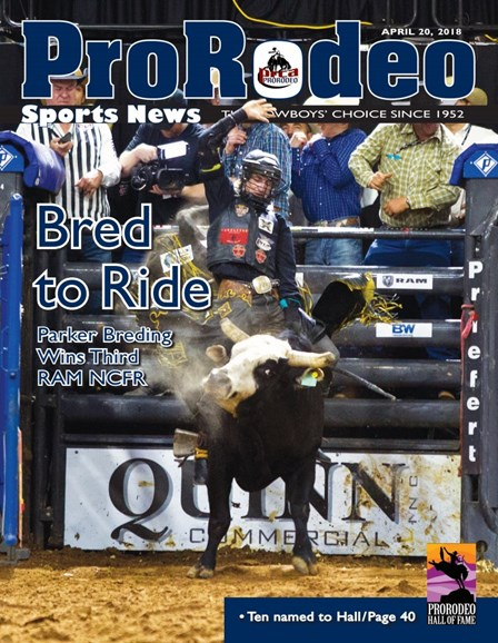 Pro Rodeo Sports News Cover - 4/20/2018