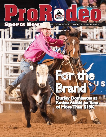 Pro Rodeo Sports News Cover - 4/6/2018