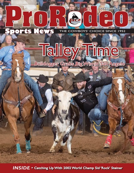 Pro Rodeo Sports News Cover - 2/23/2018