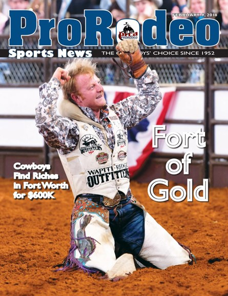Pro Rodeo Sports News Cover - 2/9/2018