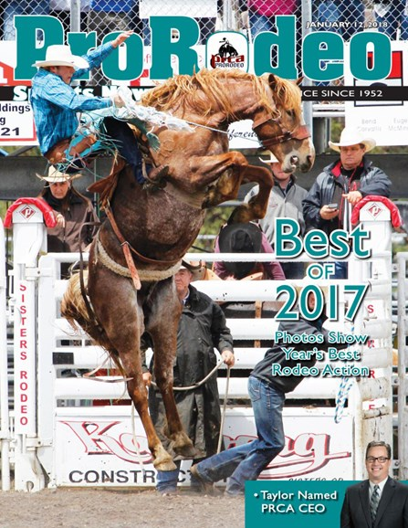 Pro Rodeo Sports News Cover - 1/12/2018