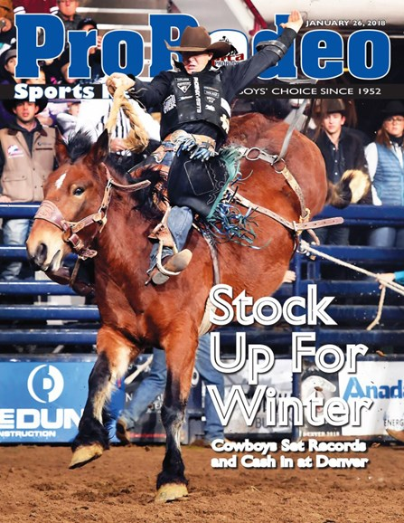 Pro Rodeo Sports News Cover - 1/26/2018