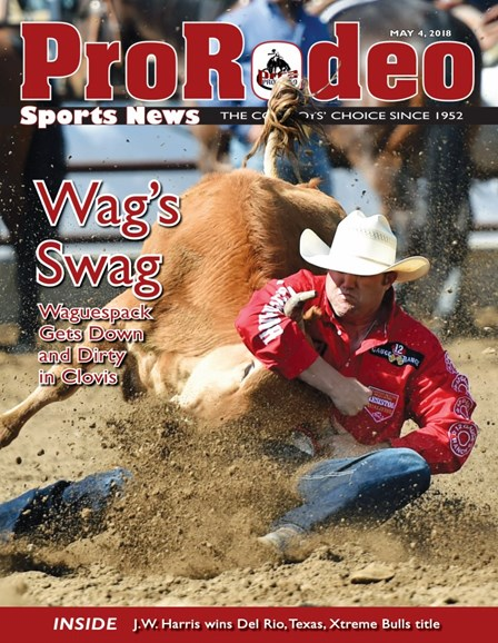Pro Rodeo Sports News Cover - 5/4/2018