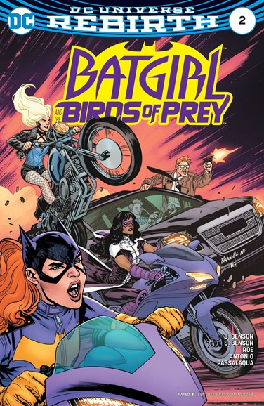 Batgirl and the Birds of Prey Cover - 11/1/2016