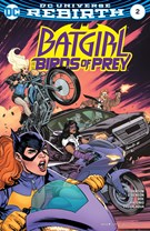 Batgirl and the Birds of Prey 11/1/2016