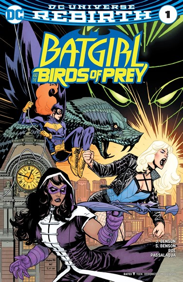 Batgirl and the Birds of Prey Cover - 10/1/2016