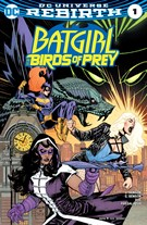Batgirl and the Birds of Prey 10/1/2016