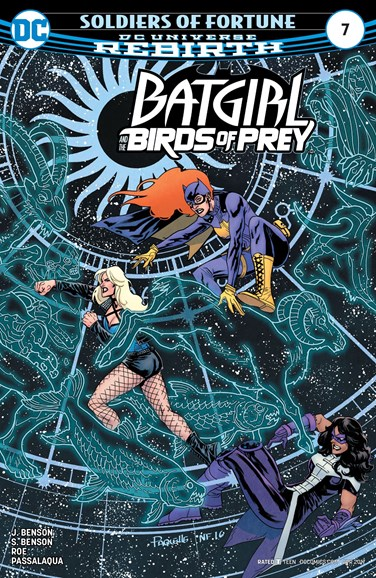 Batgirl and the Birds of Prey Cover - 4/1/2017
