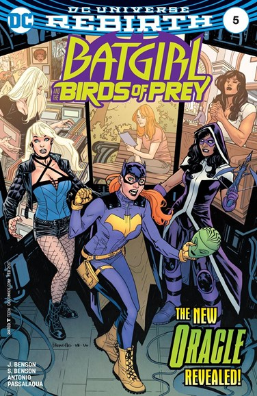Batgirl and the Birds of Prey Cover - 2/1/2017
