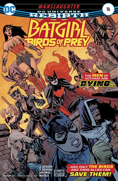 Batgirl and the Birds of Prey Cover - 1/1/2018