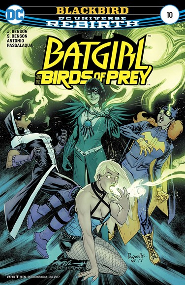 Batgirl and the Birds of Prey Cover - 7/1/2017