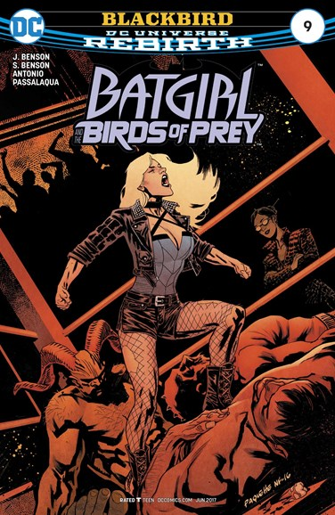 Batgirl and the Birds of Prey Cover - 6/1/2017