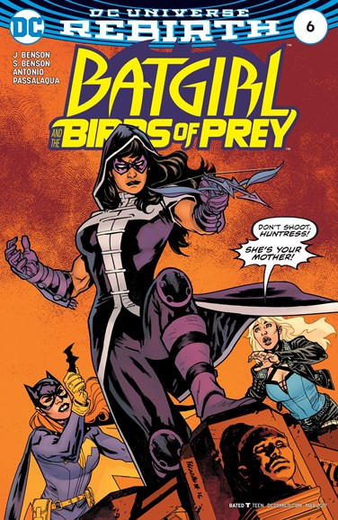 Batgirl and the Birds of Prey Cover - 3/1/2017