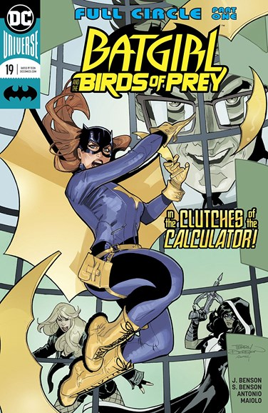 Batgirl and the Birds of Prey Cover - 4/1/2018
