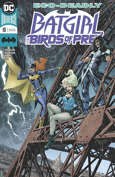 Batgirl and the Birds of Prey Cover - 3/1/2018