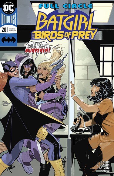 Batgirl and the Birds of Prey Cover - 5/1/2018