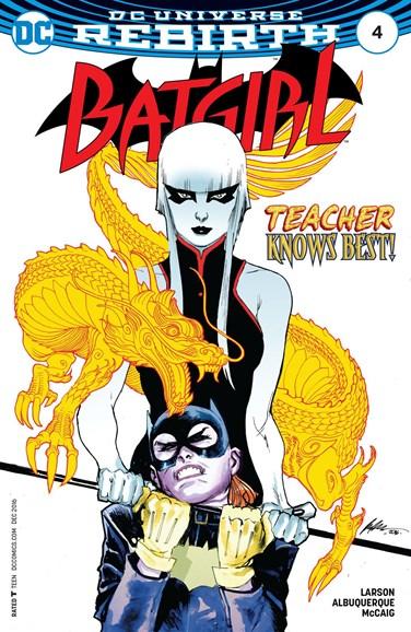 Batgirl Cover - 12/1/2016
