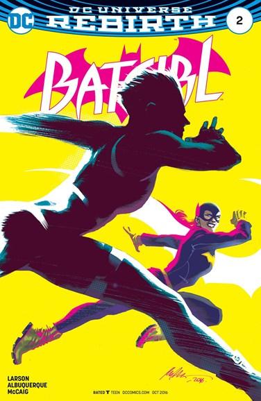 Batgirl Cover - 10/1/2016