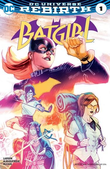 Batgirl Cover - 9/1/2016